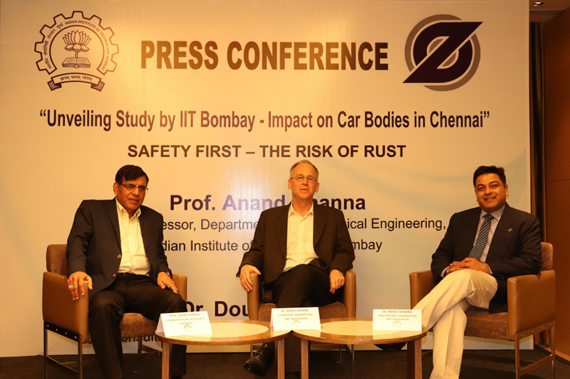 Use of galvanized steel for cars to enhance durability, passenger safety