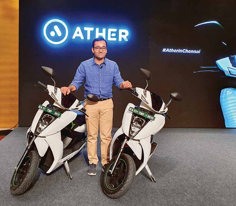 Ather Energy plans higher localisation; to set up new plant