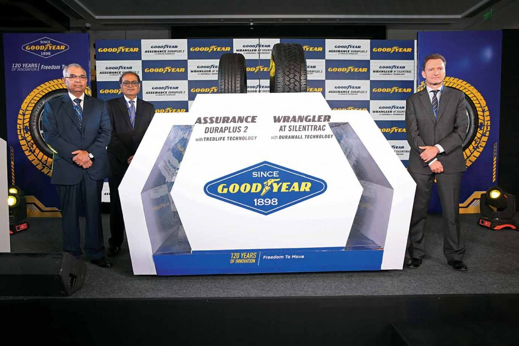Goodyear launches PV and SUV tyres in India