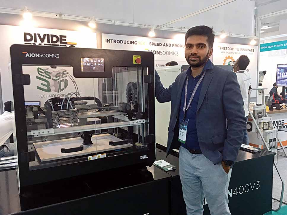 Divide By Zero launches new, faster 3D printer AION500 MK3