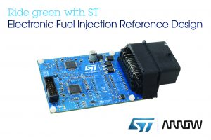 STMicroelectronics with Arrow Electronics releases reference design ECU for EFI