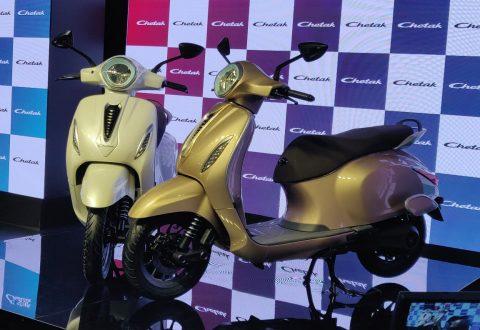 Bajaj unveils Chetak e-scooter, launch early 2020