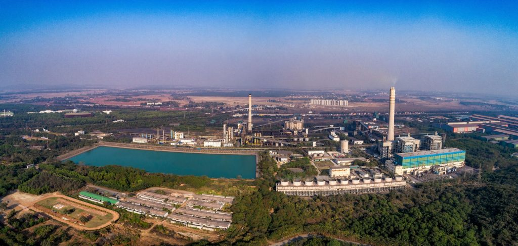 Aerial view of Jinal Stainless Limited