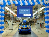 Tata Motors rolls out the 3,00,000thTiago from its Sanand plant