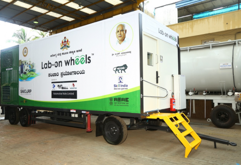 Automotive Axles Limited donates India's first 'Lab Built on Wheels'