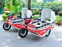 Hero MotoCorp donates First Responder Vehicles