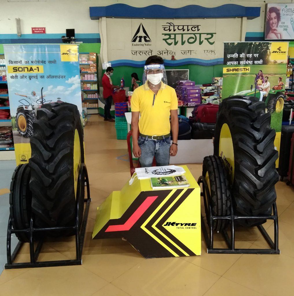 JK Tyre ties up with ITC's Choupal Saagars