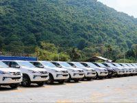 Toyota Kirloskar Motor launches its first regional stockyard in India