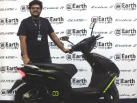 Earth Energy EV launches three Electric two-wheelers