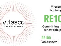 Alliance for 100 percent renewable energy: Vitesco Technologies joins RE100