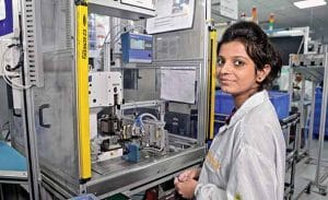 Women for manufacturing
